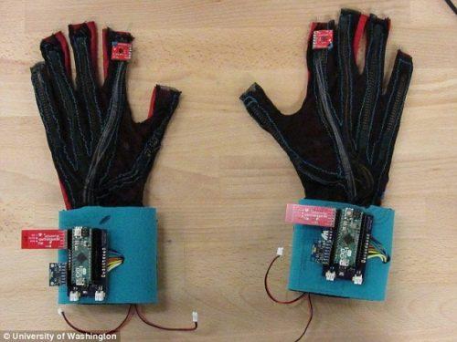 Перчатки SignAloud могут «говорить» пока только на английском.