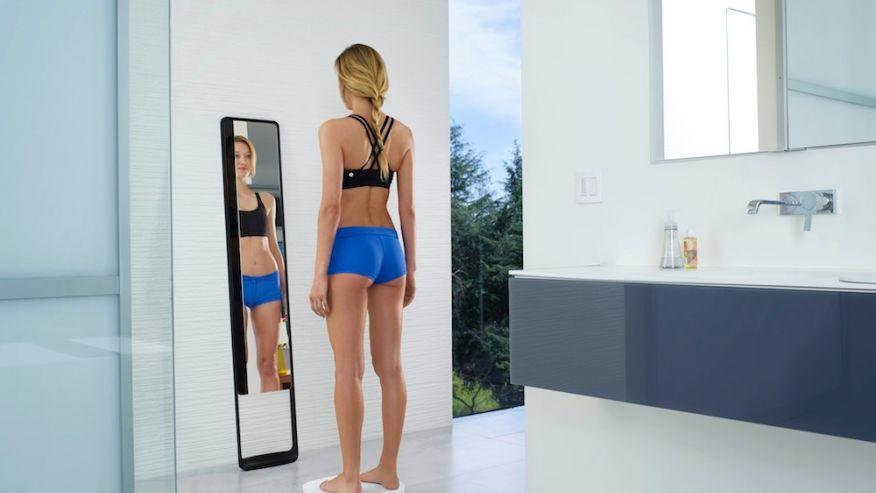 «Умное» зеркало сообщит правду о достоинствах и недостатках фигуры