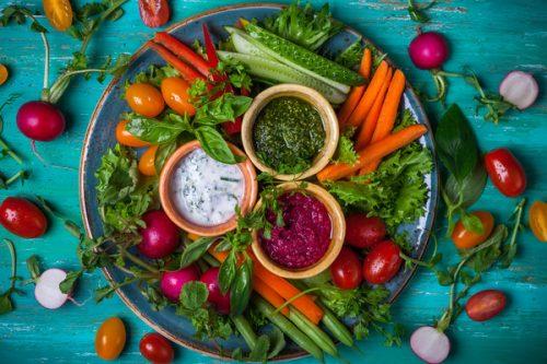Соусы дип для овощей