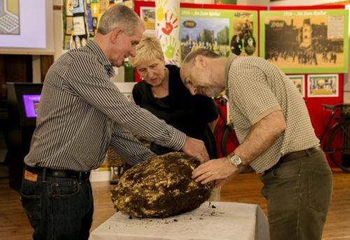В болоте нашли двухтысячелетний кусок масла