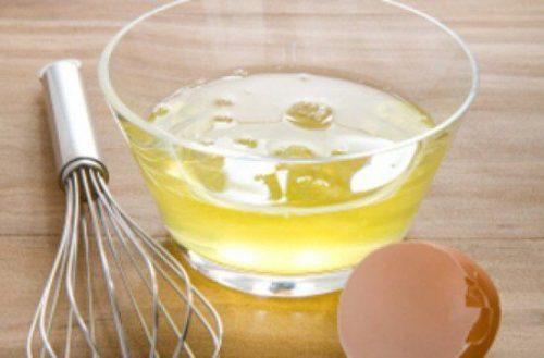 яичный белок для красоты