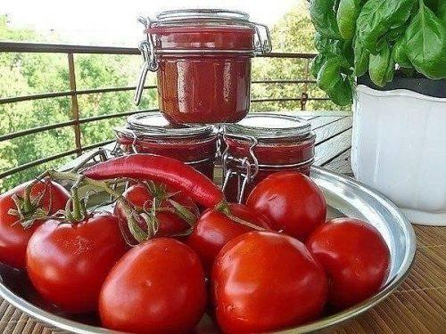 Варианты домашнего кетчупа на зиму