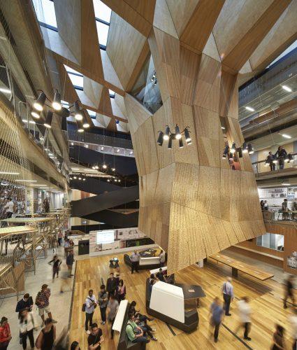 melbournes-school-of-desain-atrium-of-the-building