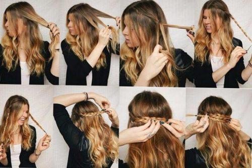 Прически на каждый день на длинные волосы для девушек