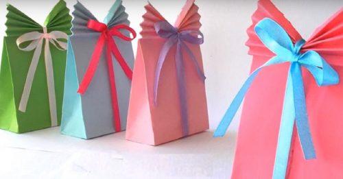 Упаковка для подарка из бумаги а4 26