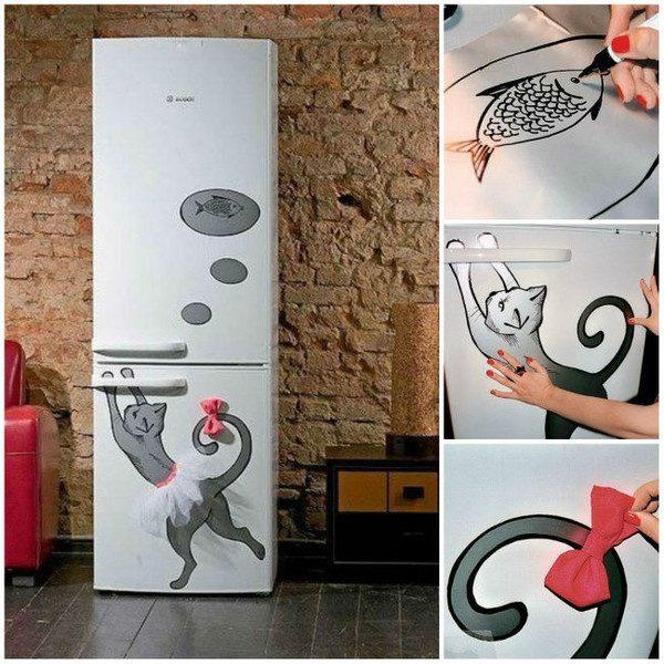 Декора холодильника