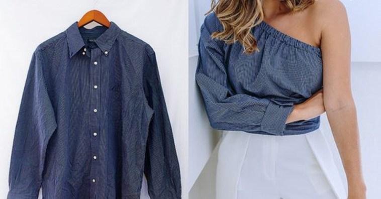 Что можно сшить из рубашки мужа для себя 282