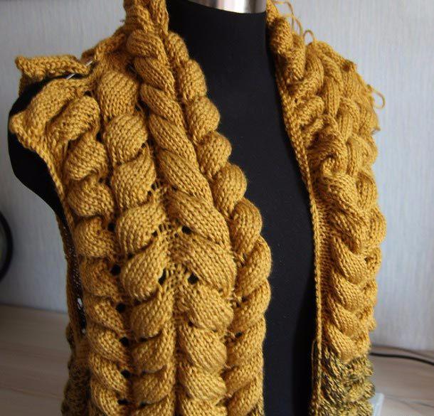 Вязание спицами кардиган шиншилла описание 41