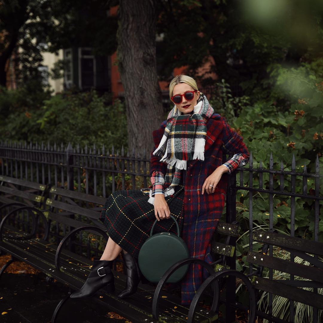 шарф с пальто фото 13