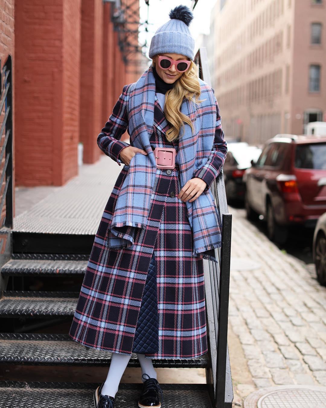 шарф с пальто фото 15