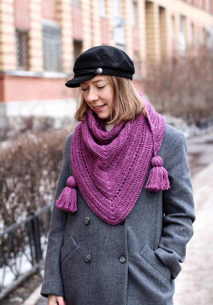 шарф с пальто фото 7