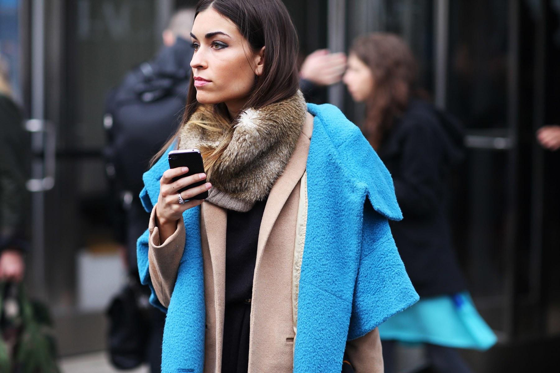шарф с пальто фото 8