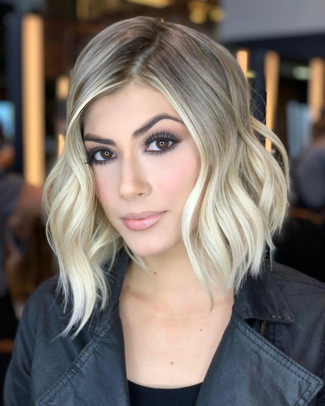 Растяжка цвета на волосах фото 26