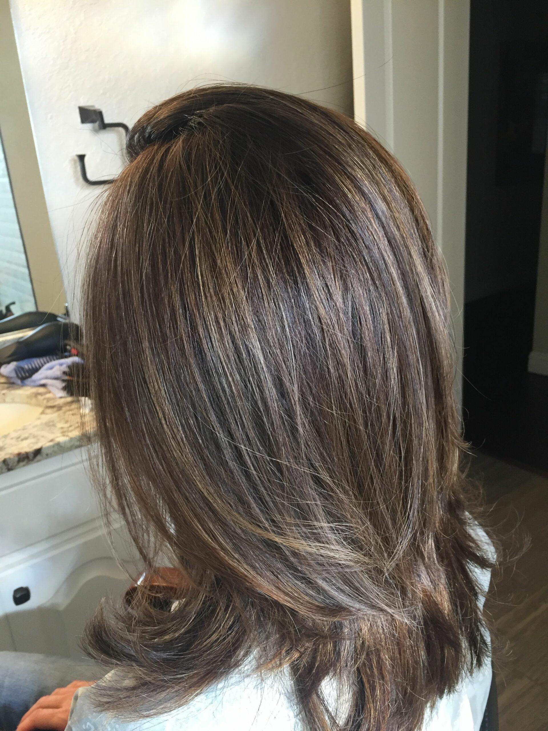 Мелирование волос 2020 фото 1