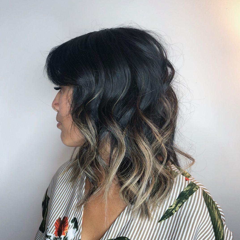 Растяжка цвета на волосах фото 10