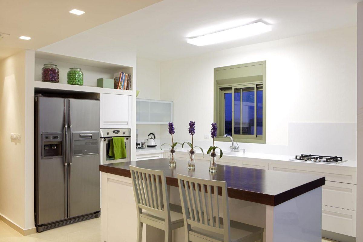использование ниши на кухне фото 12
