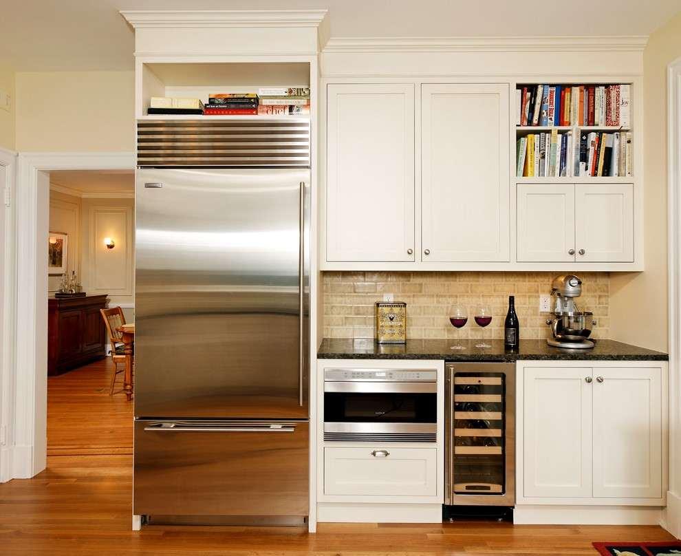 использование ниши на кухне фото 17