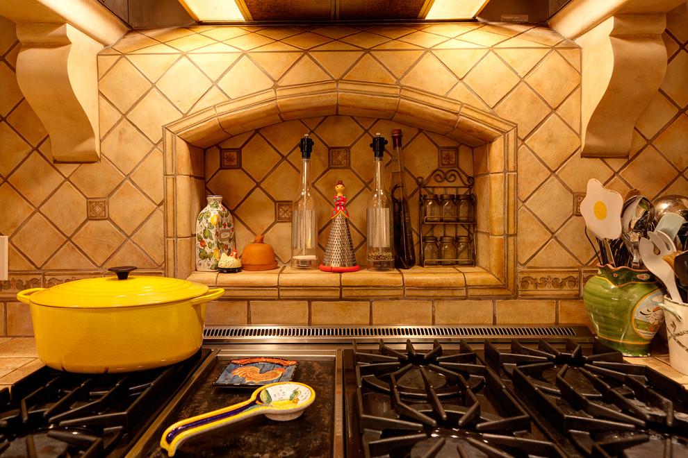 использование ниши на кухне фото 9