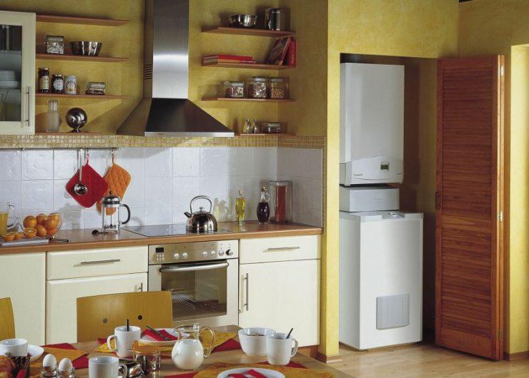 использование ниши на кухне фото 14