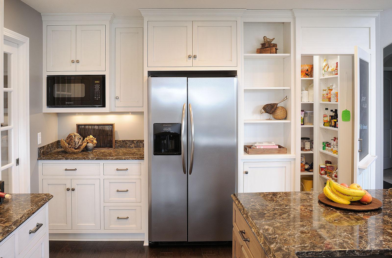 использование ниши на кухне фото 13