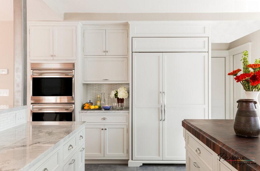 использование ниши на кухне фото 2