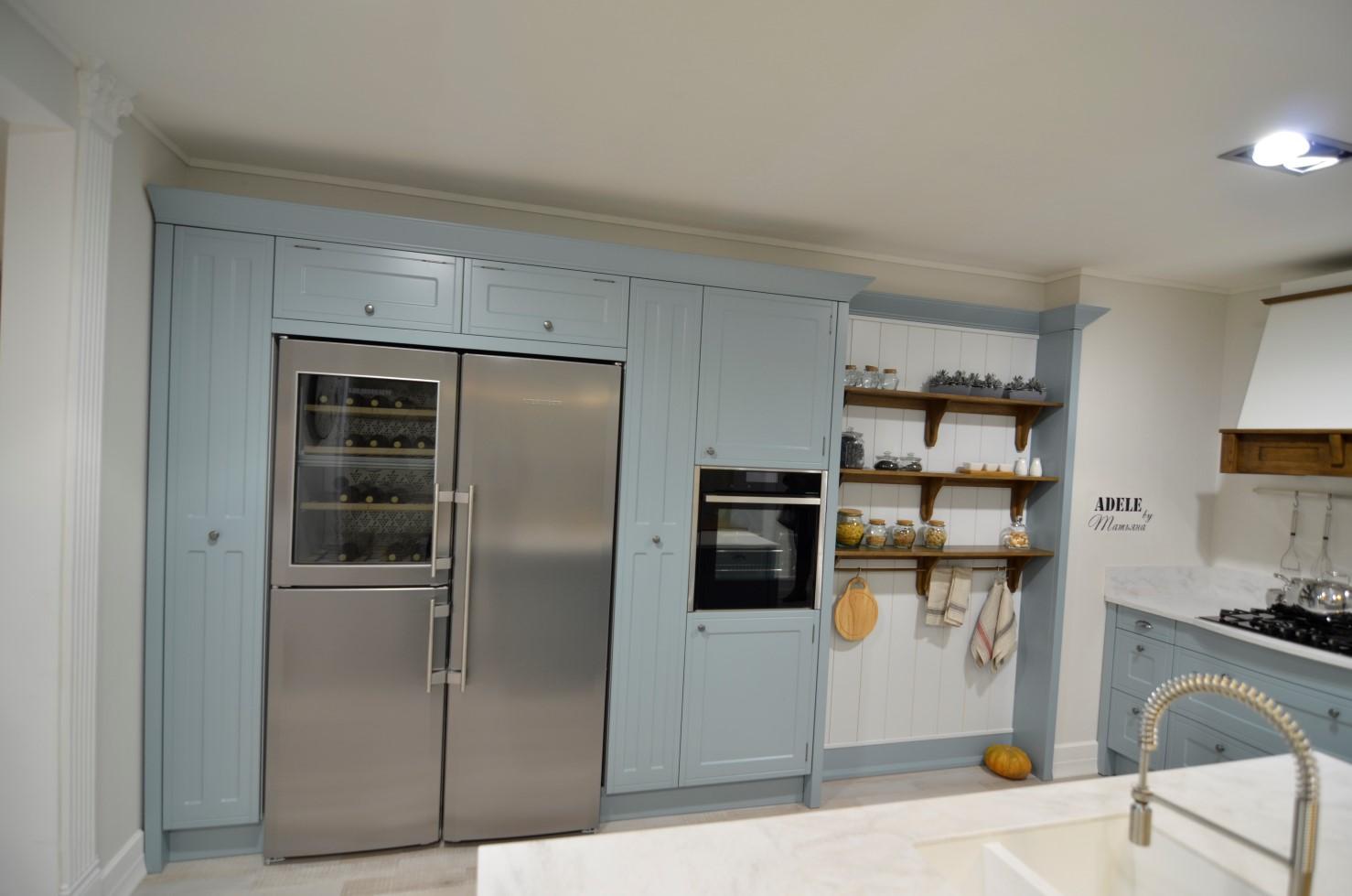 использование ниши на кухне фото 8