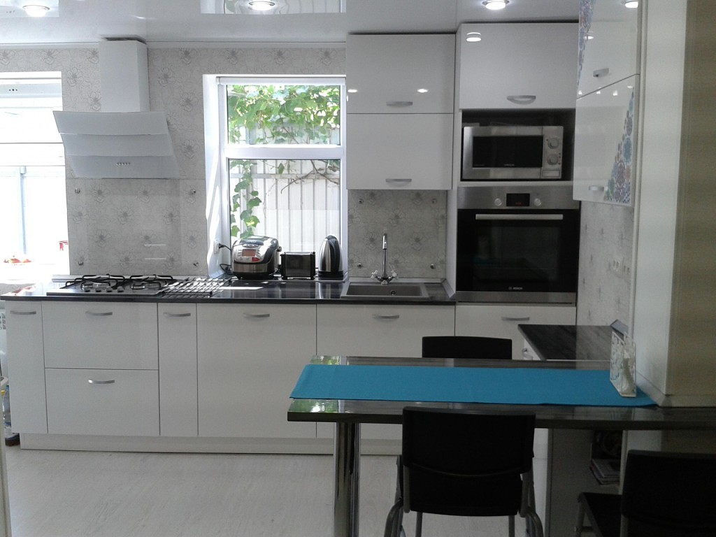 использование ниши на кухне фото 11
