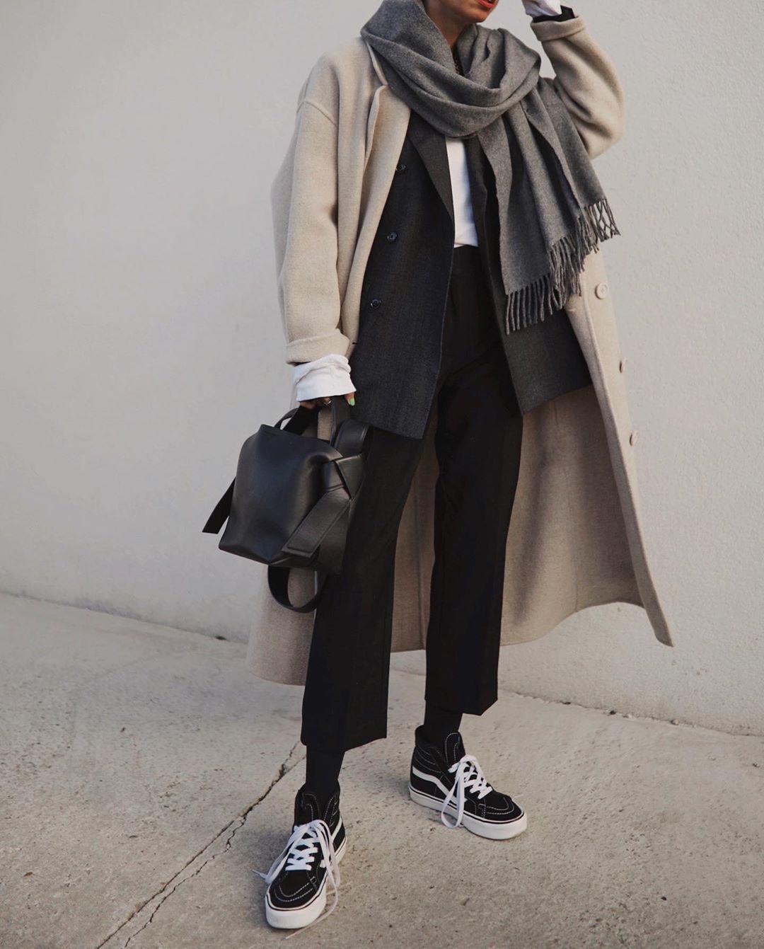 Широкое пальто фото 2