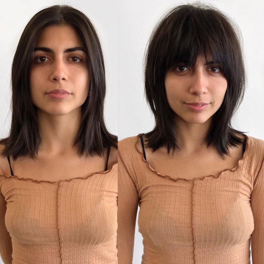 До и после челки: фото 8