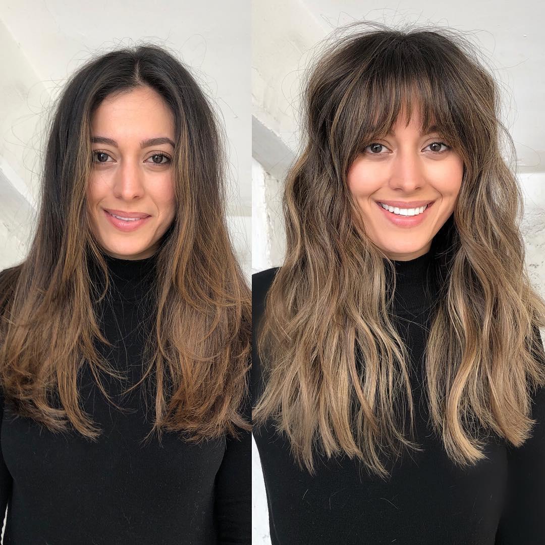 До и после челки: фото 4
