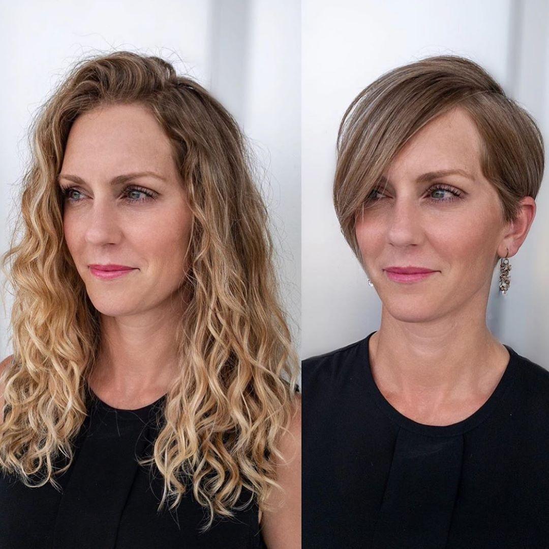 До и после челки: фото 20