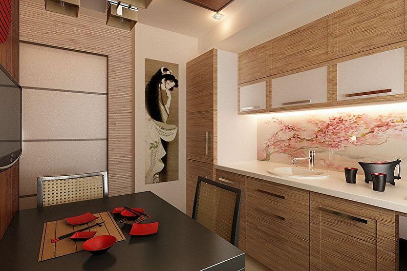 дизайн маленькой квартиры в японском стиле фото 4