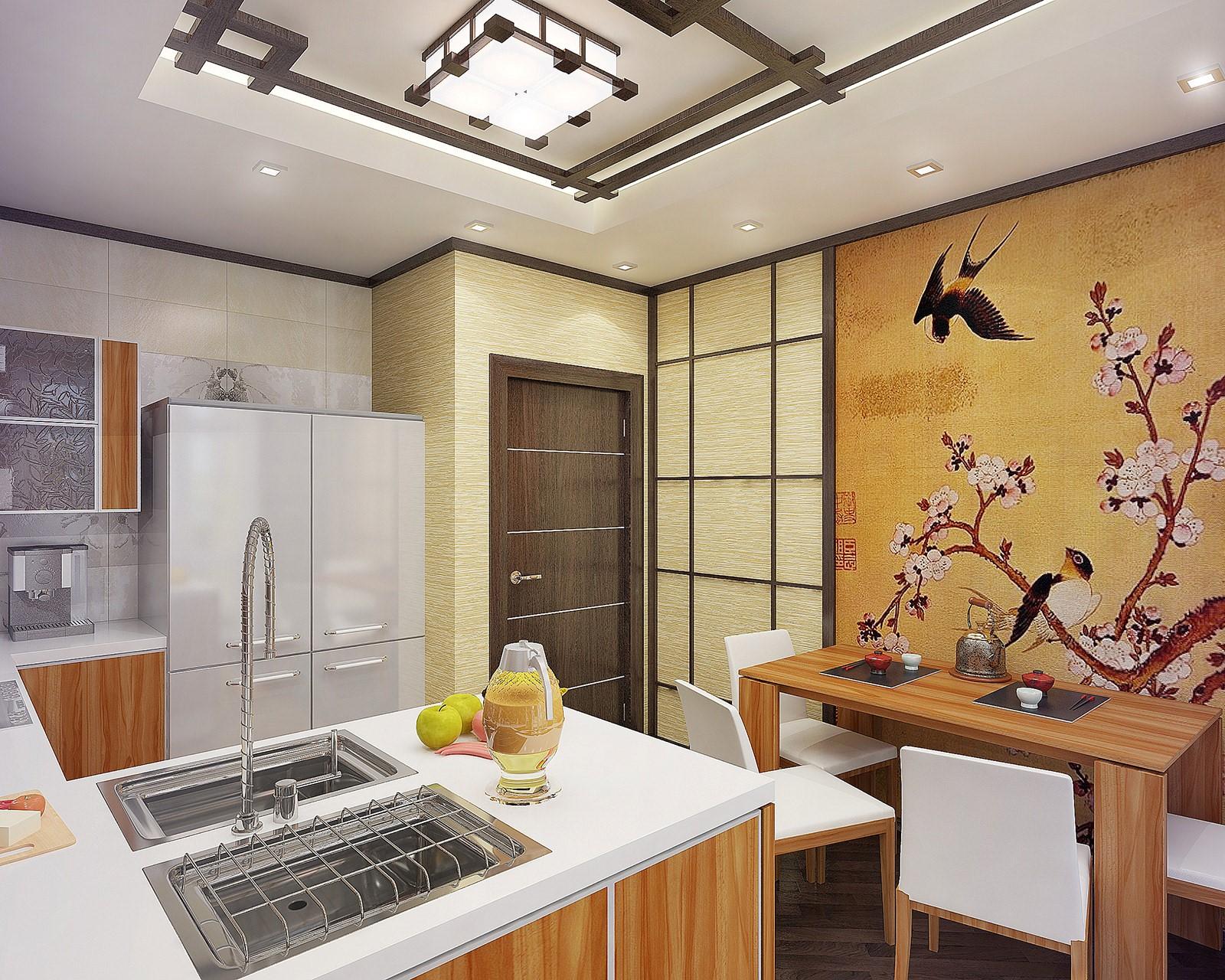 дизайн маленькой квартиры в японском стиле фото 3