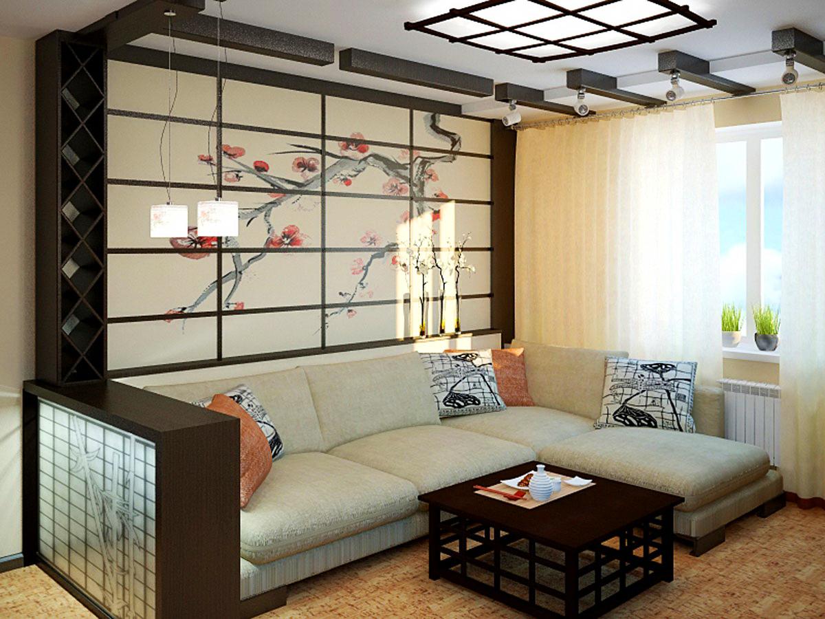 дизайн маленькой квартиры в японском стиле фото 7