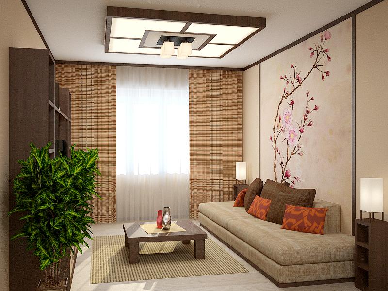 дизайн маленькой квартиры в японском стиле фото 9