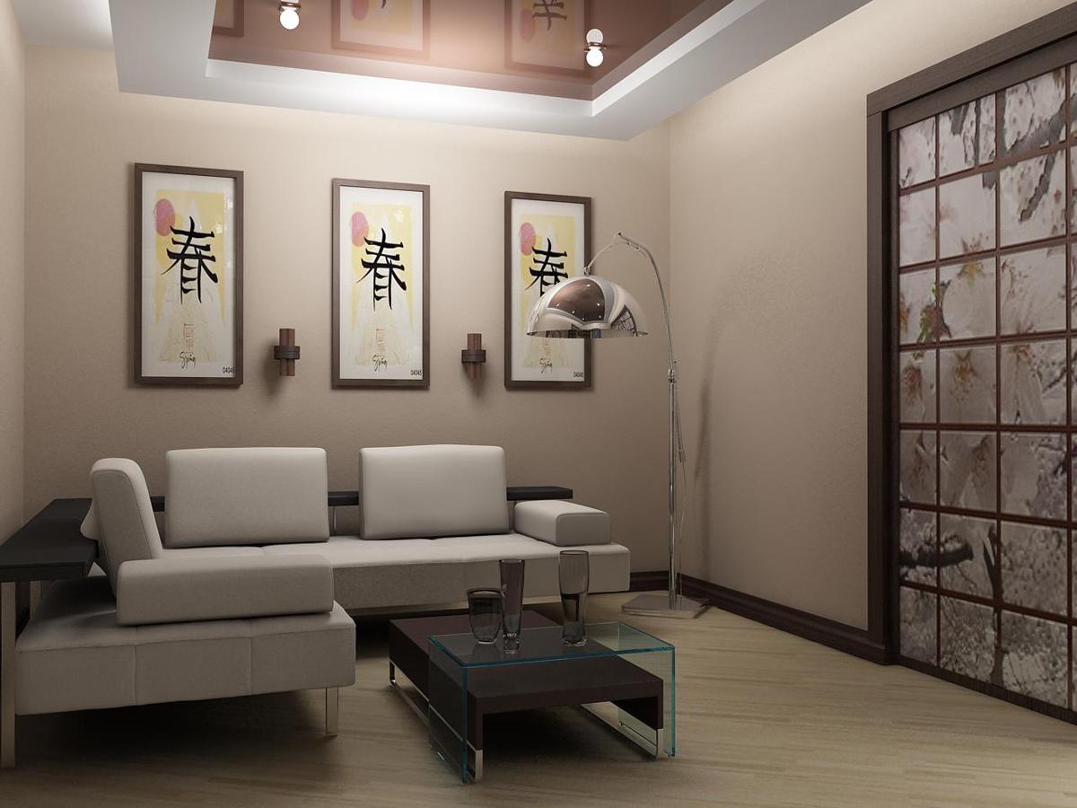 дизайн маленькой квартиры в японском стиле фото 16