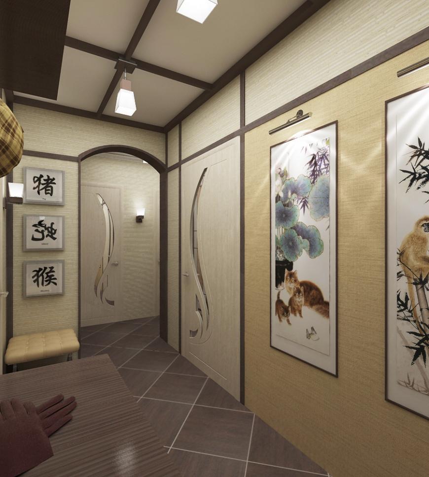 дизайн маленькой квартиры в японском стиле фото 17