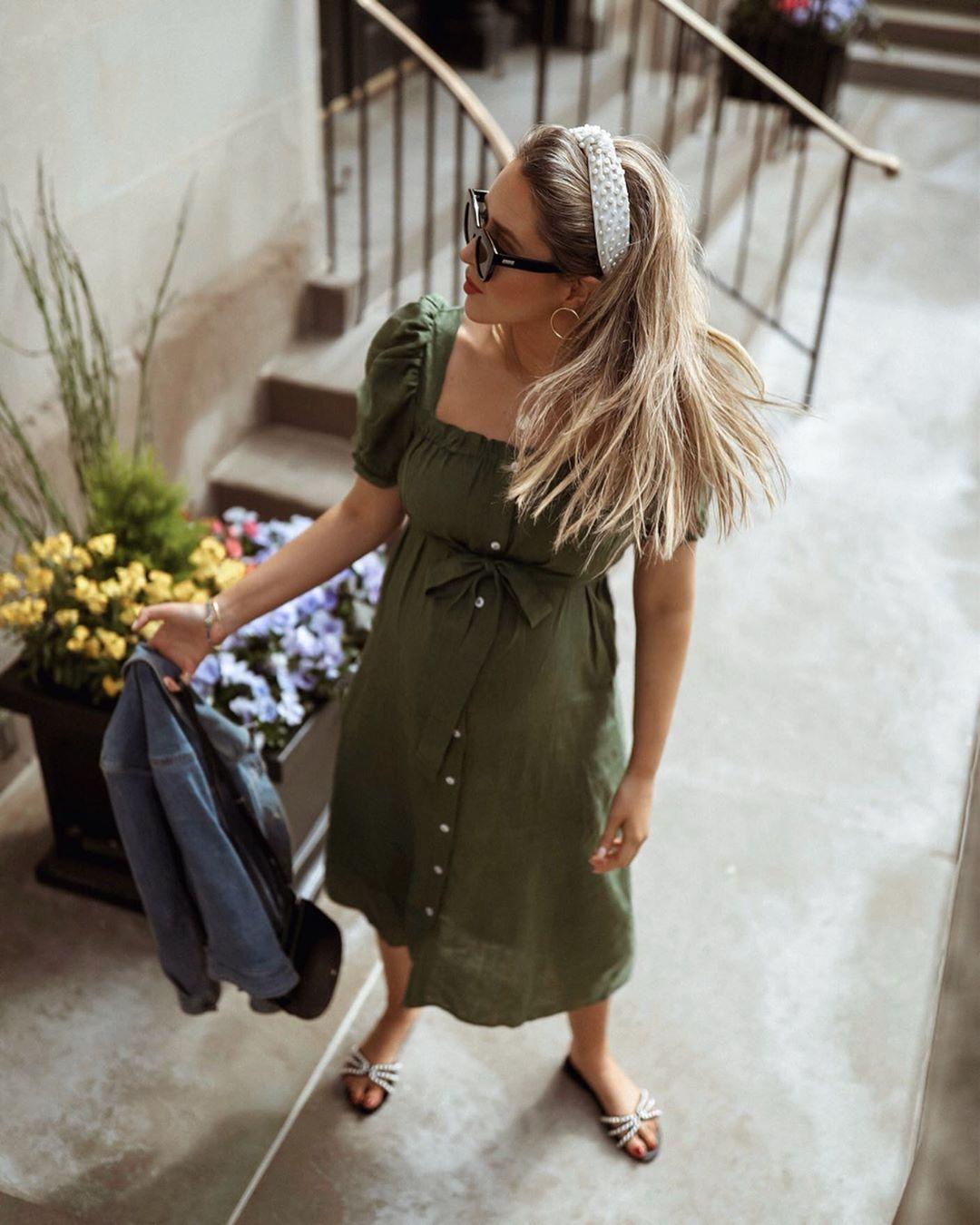 модные образы в оливковом цвете цвете фото 3