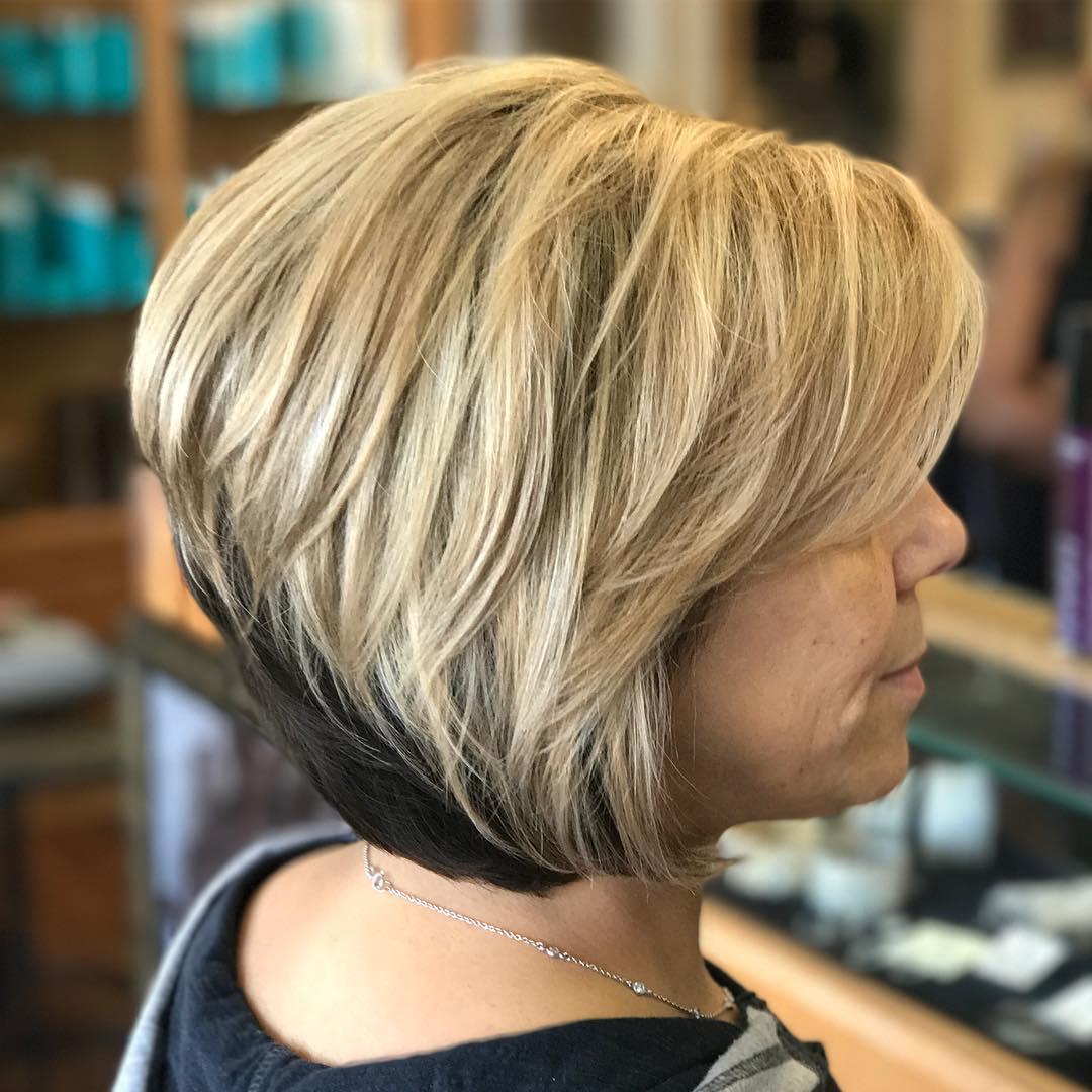 Стрижки после 60 лет для прямых волос фото 8