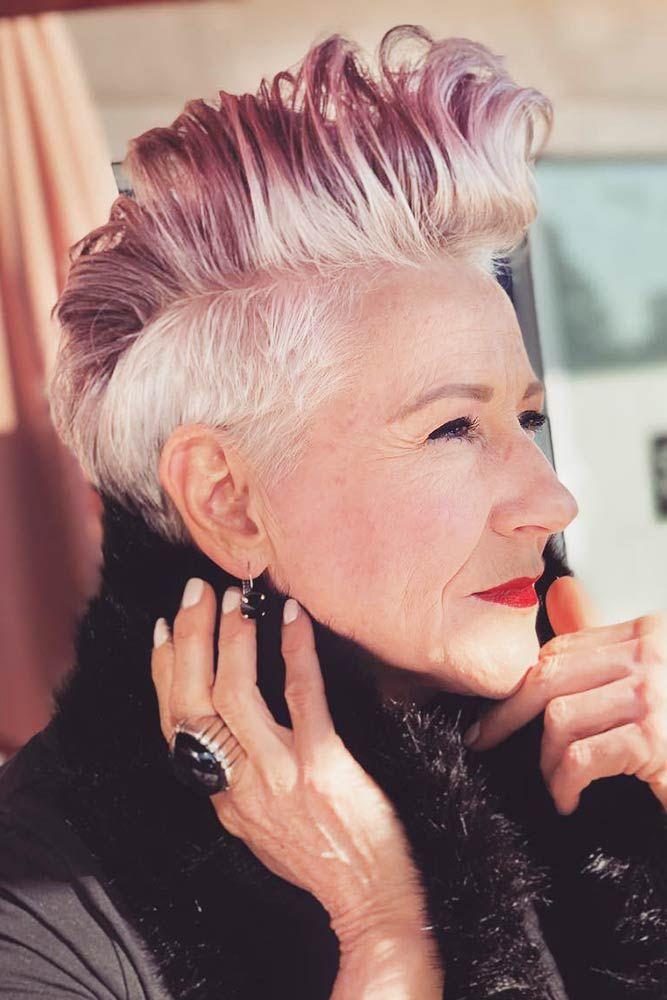 Прически для женщин старше 50 лет фото 13