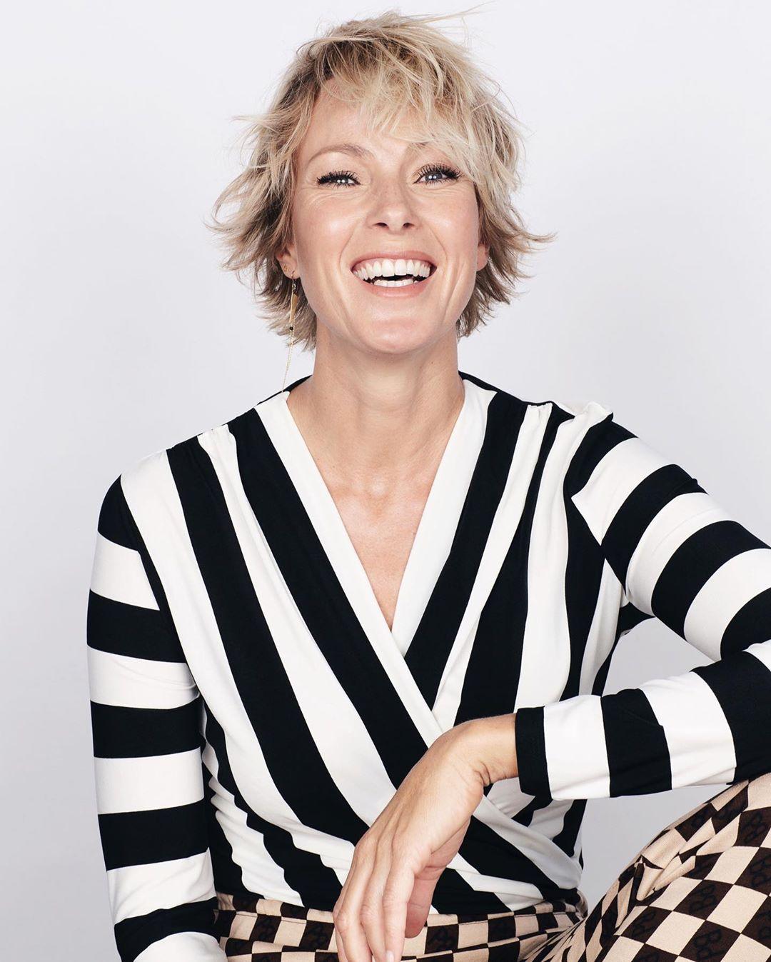 модные стрижки на короткие волосы для женщин 40 лет фото 6