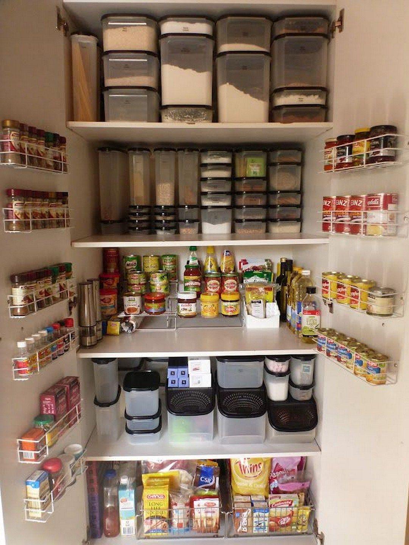 стеллажи для организации кладовой на кухне фото 3