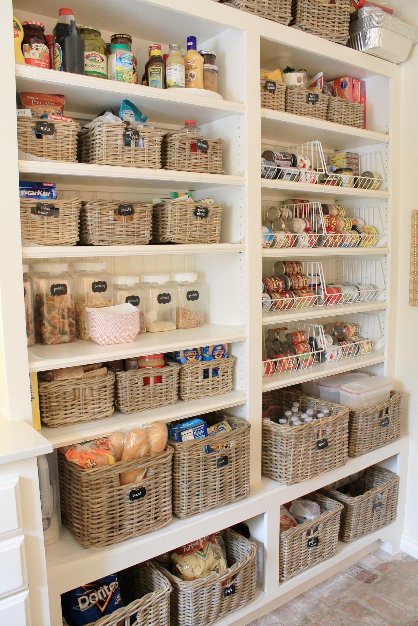 стеллажи для организации кладовой на кухне фото 2