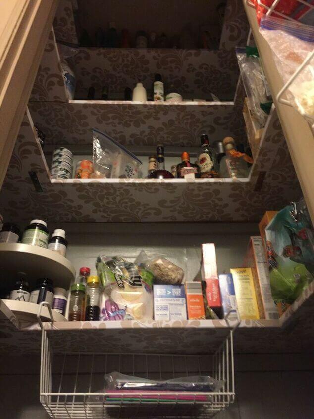 стеллажи для организации кладовой на кухне фото 7