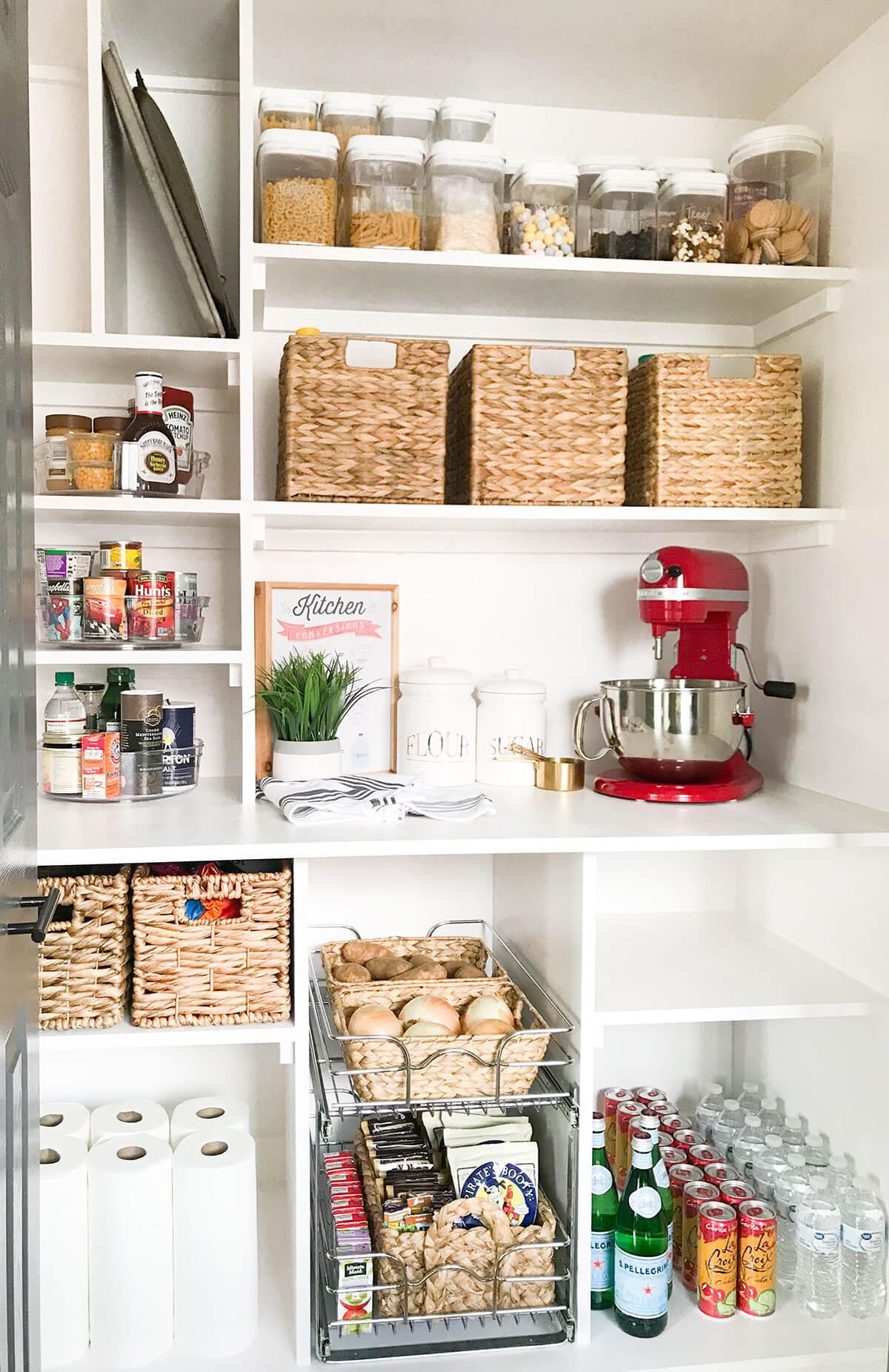стеллажи для организации кладовой на кухне фото 6