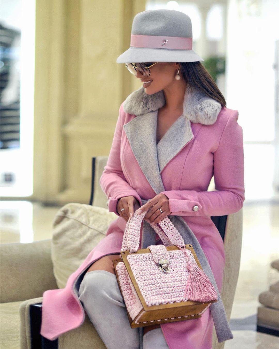 Розовое пальто фото 3