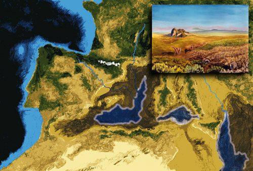 Закрытие канала между Средиземным морем и Атлантическим океаном / ©Wikipedia/Paubahi