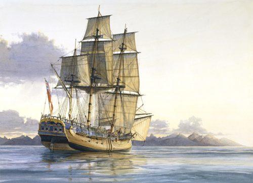 Endeavour Captain Cook.