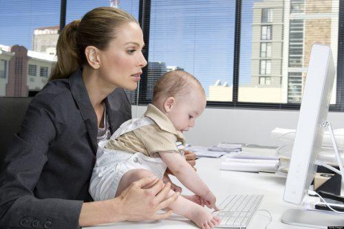 Женщины с детьми до 14 лет могут устраиваться на работу без испытательного срока