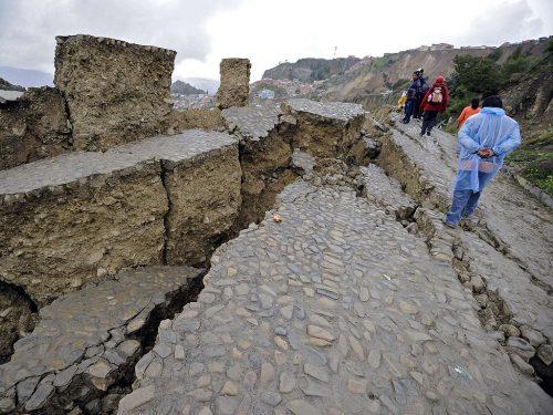 Последствия оползней в Боливии / ©AFP